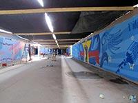 Des fresques mesurant 10 à 40 mètres de long.